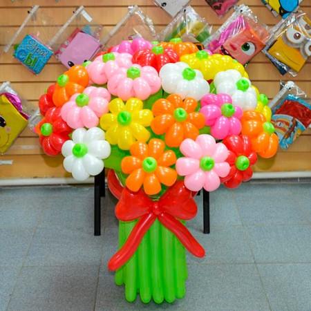 Букет з кульок 35 штук