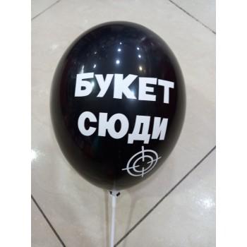 Латексна кулька на дівич вечір Букет сюди