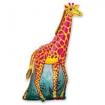Фольгована кулька Жирафа