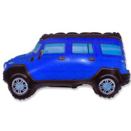 Фольгована фігура Машина синя