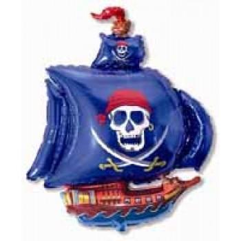 Фольгована фігура Корабель пірат
