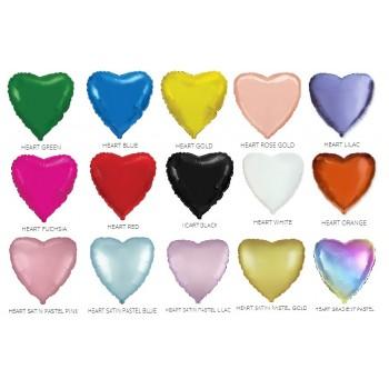 Фольгована кулька - серце