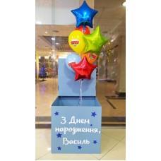Коробка з кульками голуба Бравл Старс