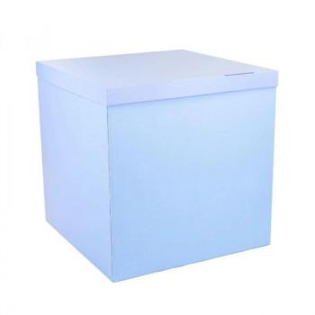 Коробка голуба без напису