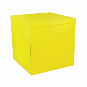 Коробка без напису жовта