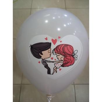 Латексна кулька Любов