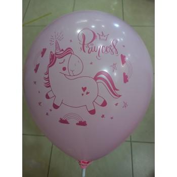 Латексна кулька Єдиноріг Princess