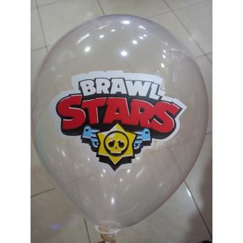 Латексна кулька Бравл Старс прозора