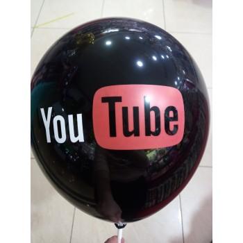 Латексна кулька Youtube