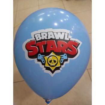 Латексна кулька Бравл старс голуба