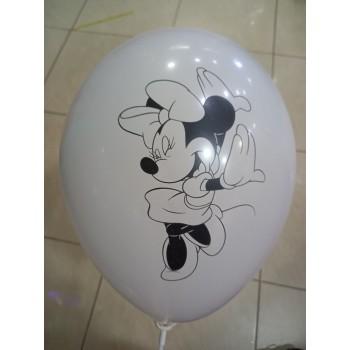 Латексна кулька Мінні біла