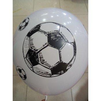 Латексна кулька м'яч біла