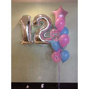Набір кульок для дівчинки 12 років