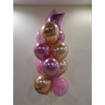 Набір кульок хром на день народження
