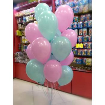 Хмаринка кульок рожево-голубих