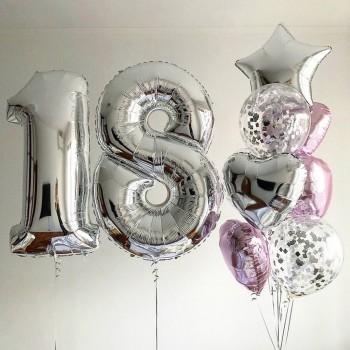 Набір кульок на 18 років