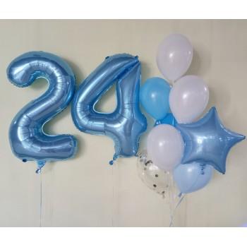 Набір кульок на 24 роки