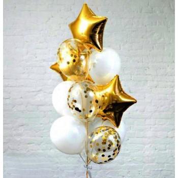Фонтан золотих кульок