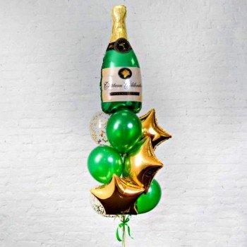 Фонтан кульок Шампанське