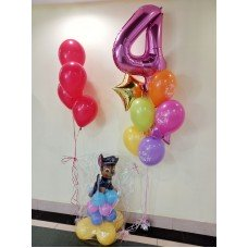 Набір кульок для дівчинки Щенячий патруль