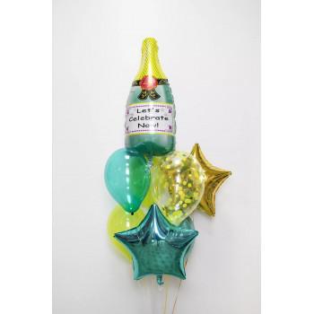 Набір кульок Шампанське