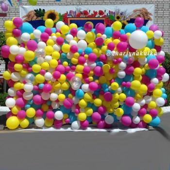Панно з кульок розмір 3х2