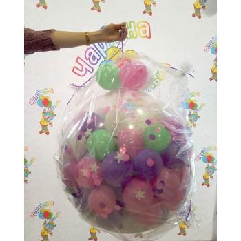 Куля-сюрприз на 50 кульок