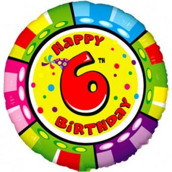 КРУГ ''HAPPY BIRTHDAY №6''